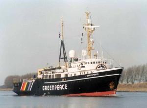 Greenpeace 1997 8 February Noordzeekanaal