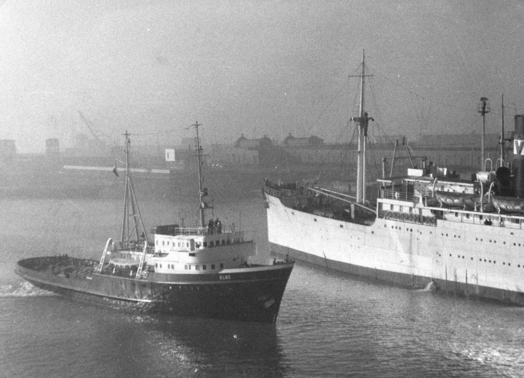 1959 Elbe 1e reis